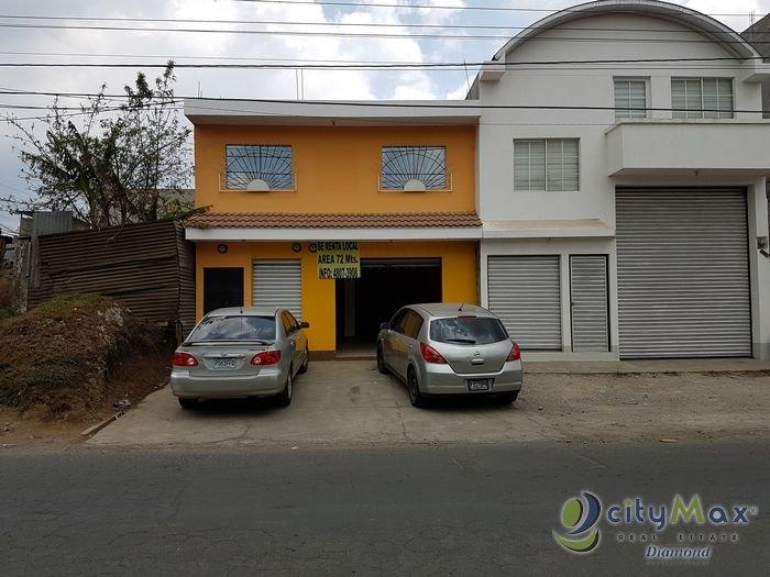 Amplio local cerca del pueblo de San José Pinula!