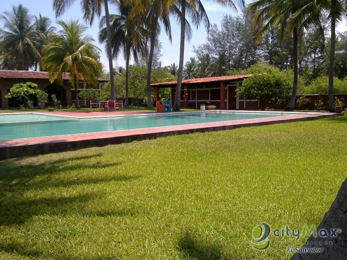 Hermoso rancho de playa en venta Costa Azul Sonsonate