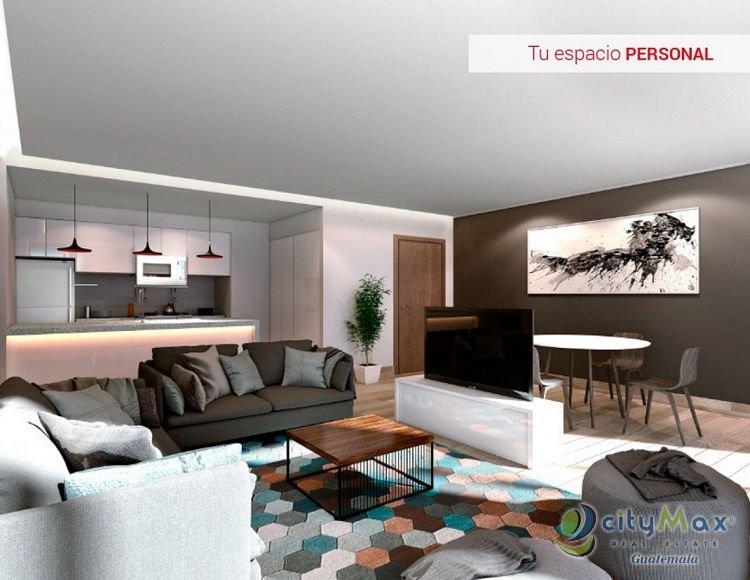 CityMax Vende Apartamento En Pre-Venta en Zona 15
