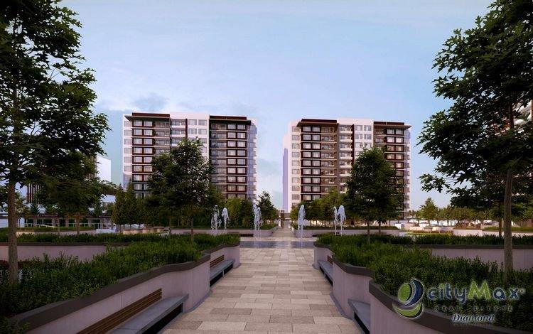 CITYMAX DIAMOND Apartamento en preventa en z.14/jardin