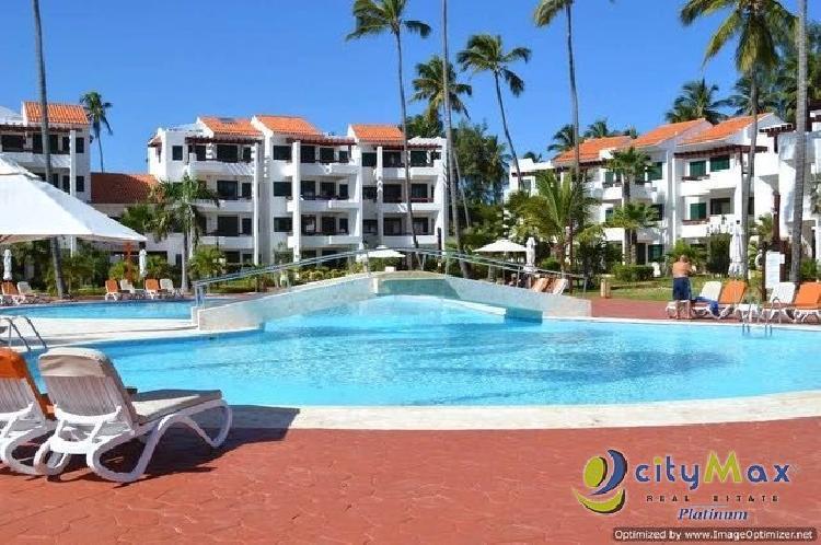 Alquiler apartamento en Bavaro, 2H, 2B piscina y playa!