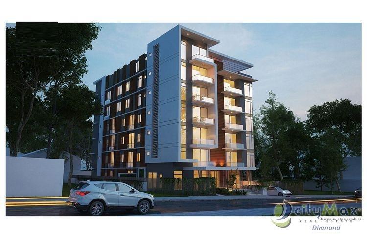 Apartamento en venta en edificio de zona 15 VH1