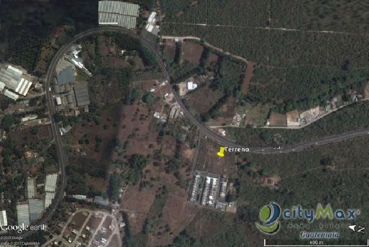 Terreno en venta km 28.5 Carretera a El Salvador