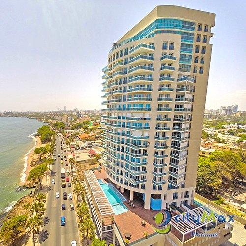 CityMax  ALQUILA  Apartamento de lujo con  vista al mar