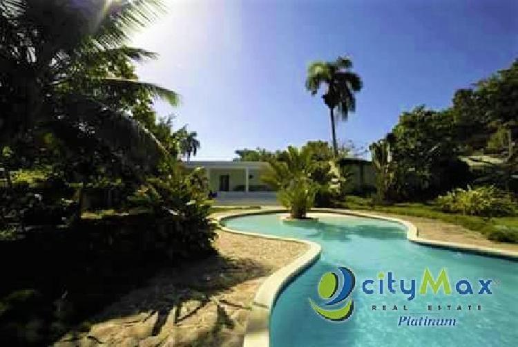 Citymax vende villa en Portillo, Samana