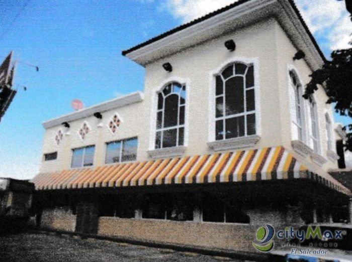 En Renta o Venta Edificio Comercial en Metapan