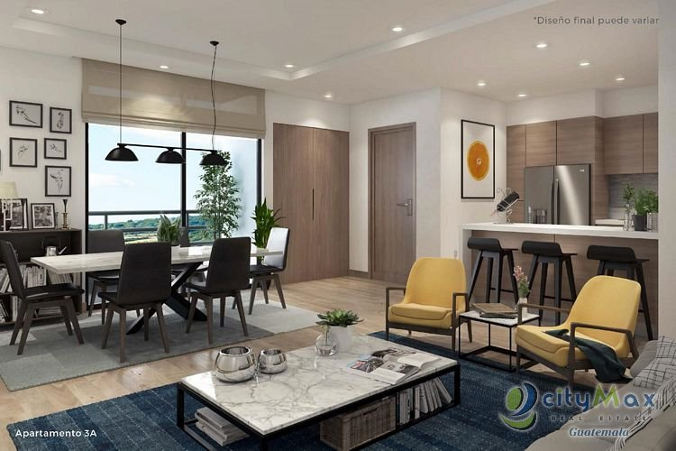 CityMax vende apartamento en Carretera a El Salvador