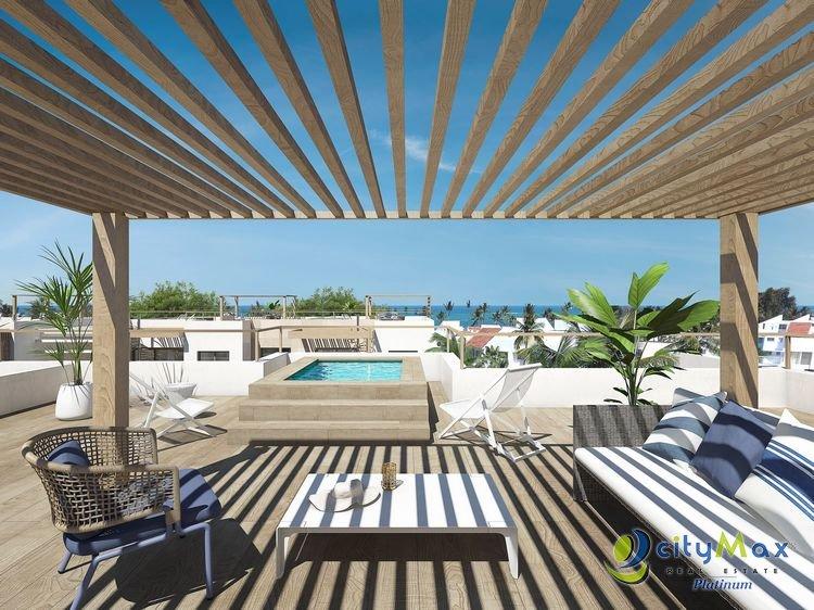 Se vende apartamento 2H/2B en Beach Garden, Bavaro