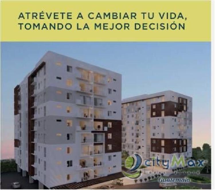 CityMax Promueve Apartamento en venta Zona 4 Mixco