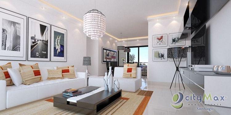 Apartamento en Venta Jardines del Este Santiago.