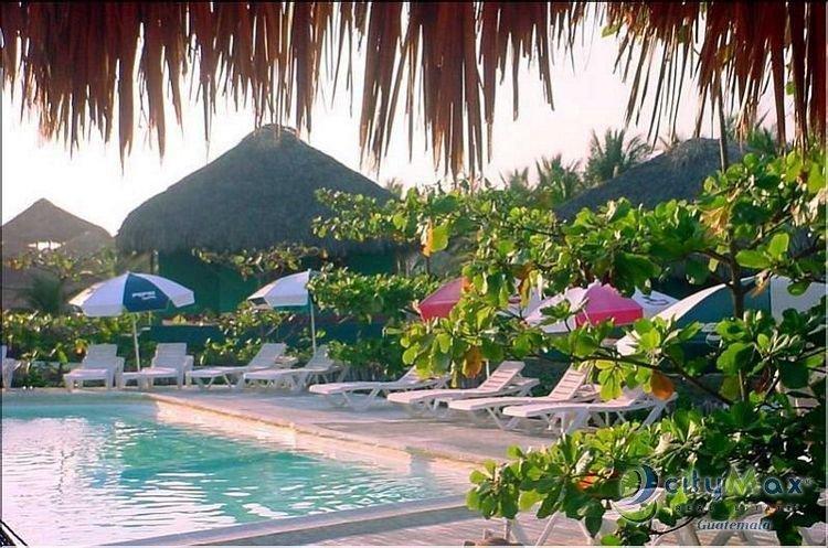 HOTEL RESTAURANTE EN VENTA EN PLAYA DE MONTERRICO GUATEMALA