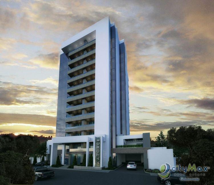 Apartamento en venta Guatemala proyecto en zona 14