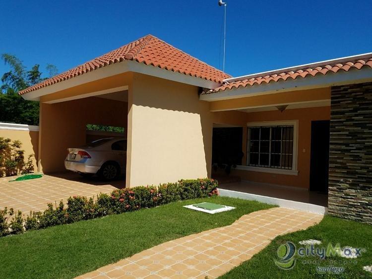 CityMax vende casa en villa maría Santiago.