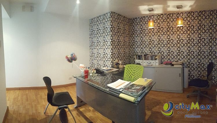 cityMax Platinum alquila Local de oficina  en Piantini