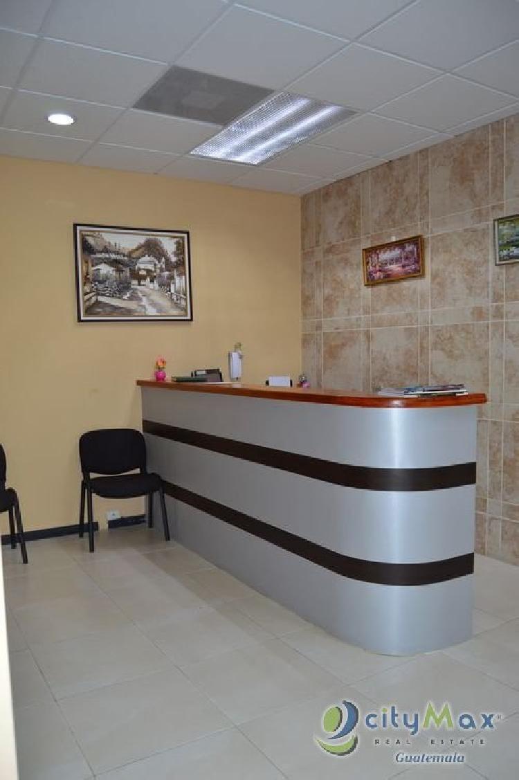 CITYMAX Promociona Oficina en Renta en la ZONA 10