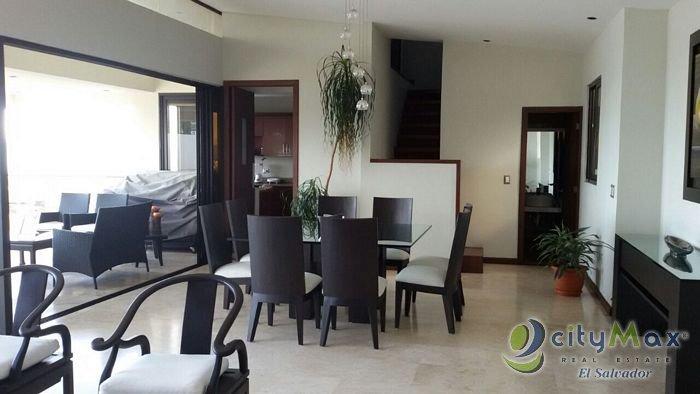 Citymax vende Penthouse en Colonia Escalon con Vista