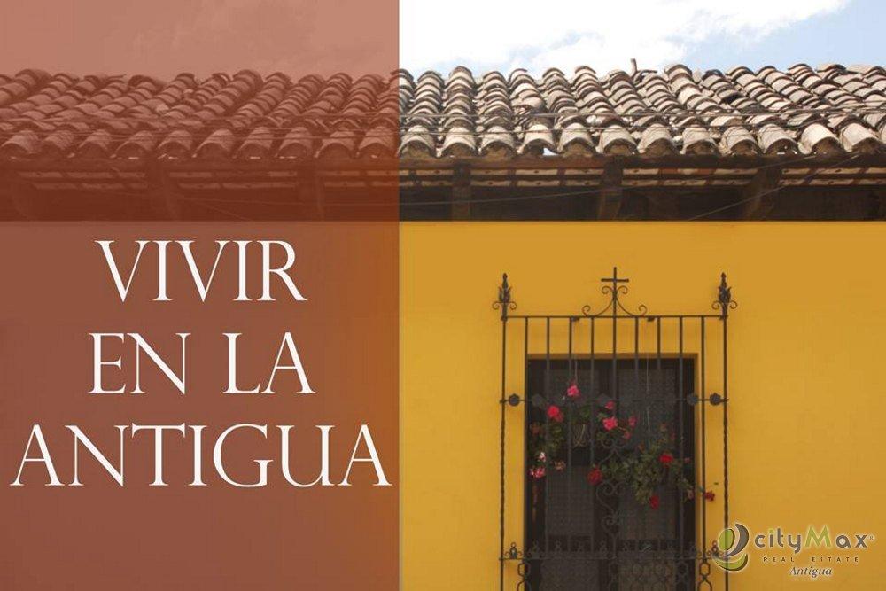 CityMax Antigua Vende Casa Nueva en Casco de La Antigua