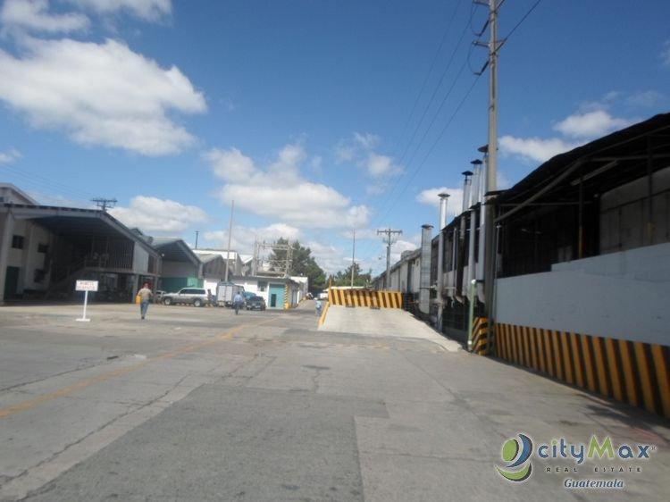 BODEGA EN RENTA DENTRO DE PARQUE INDUSTRIAL ZONA 7 MIXCO