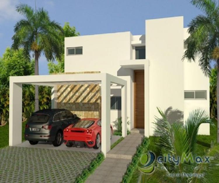 Rento y vendo Villa amueblada en Playa Nueva Romana