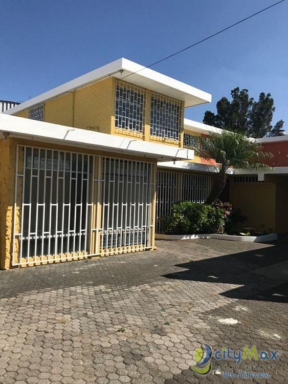 Casa con Uso Comercial en Renta en zona 9 Guatemala