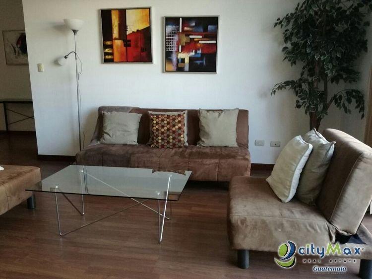 Apartamento Amueblado en Renta Zona 13 por CITYMAX