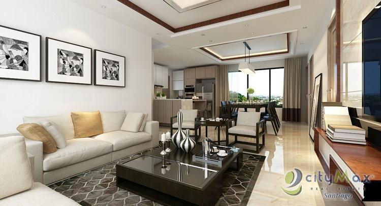 Amplio APARTAMENTO Penthouse de venta en santiago.