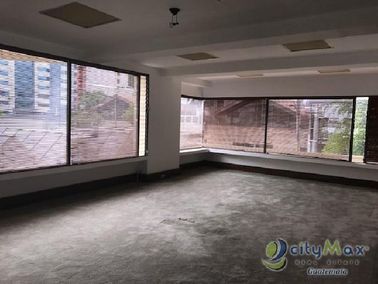 CITYMAX vende oficina para remodelar en zona 10 Guatema
