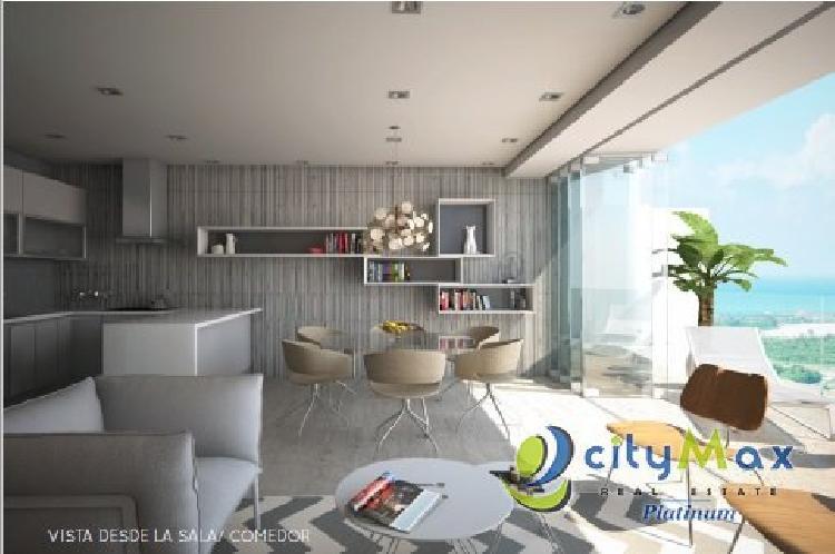 Se vende apartamento de 1H/1.5B en 7Mares, Cap Cana