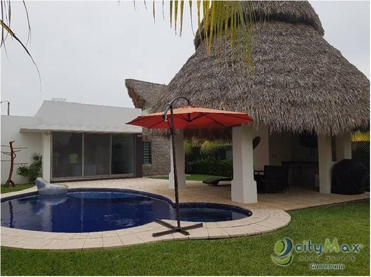 cityMax promociona! Rento casa en Condominio de Iztapa