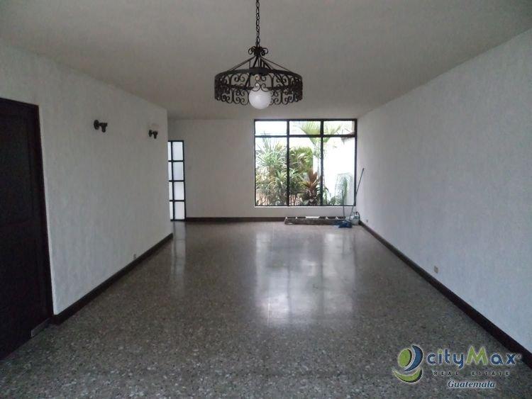 CityMax promociona casa en renta en zona 14