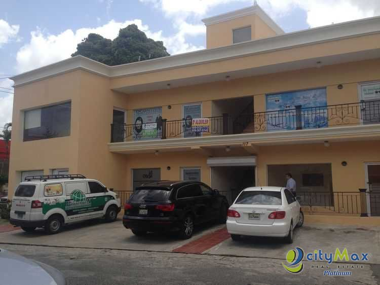 ALQUILER DE LOCAL COMERCIAL EN GAZCUE PARA OFICINA