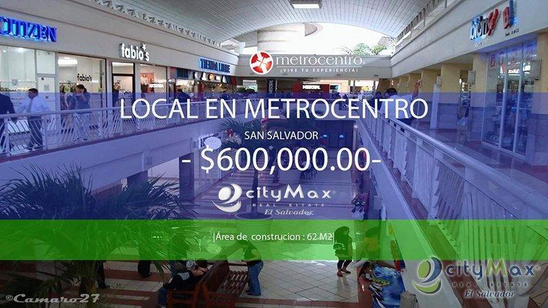 cityMax vende local comercial en Metrocentro