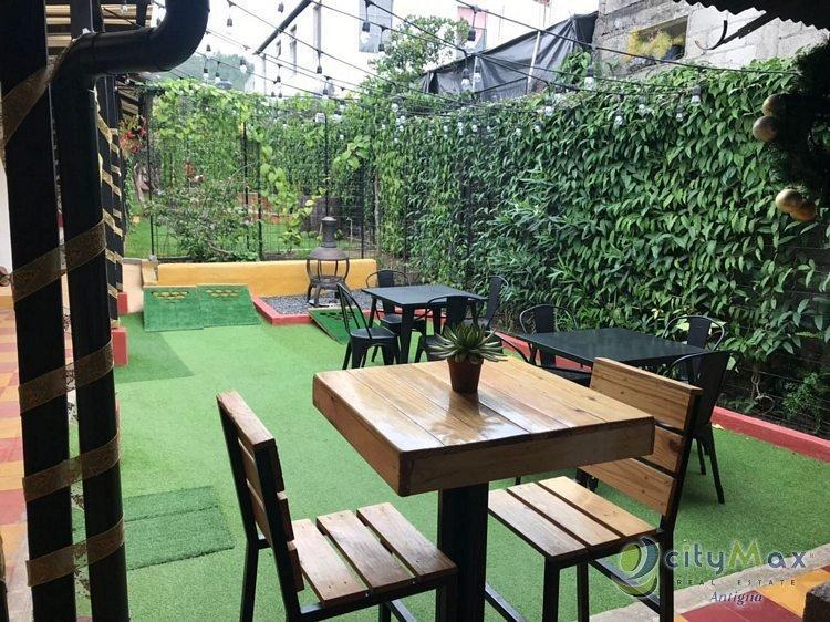CityMax Antigua Promueve en Renta Bar-Restaurante