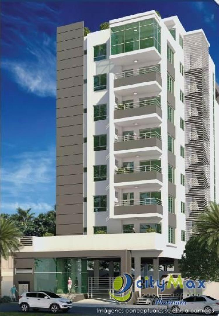 cityMax Vende Apartamentos en Paraiso, Santo Domingo