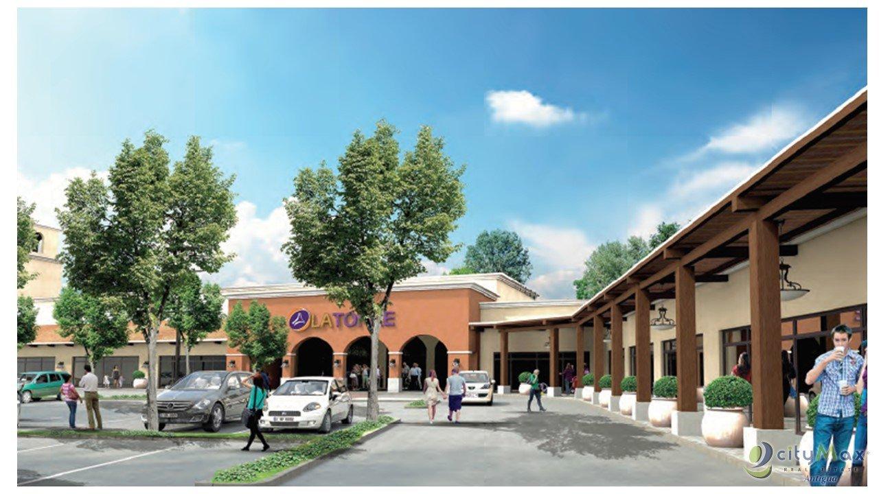 CityMax Antigua promueve local comercial en Jocotenango