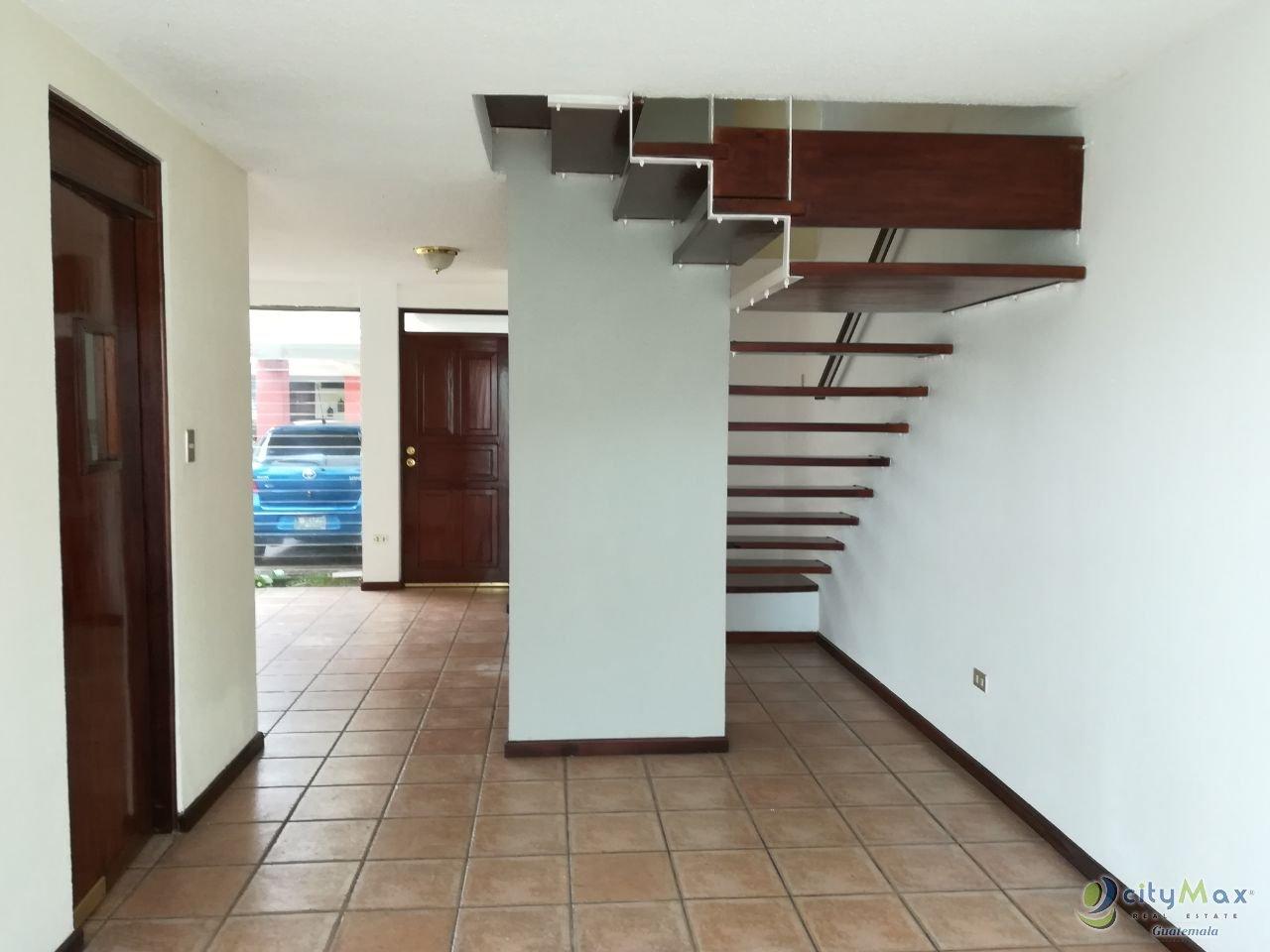 Renta casa en CONDOMINIO CÉNTRICO en la VILLA zona 14