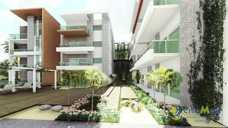 VENDO apto 3H, estudio y 4.5B en Punta Cana Village