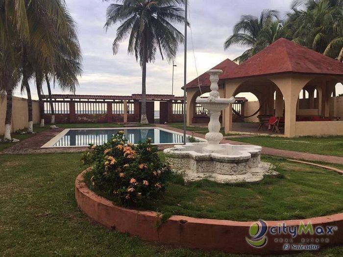 Rancho en venta en Playa Dorada Sonsonate