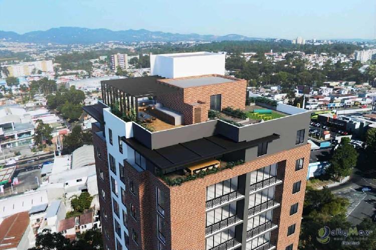 cityMax Diamond vende apartamentos zona 12 residencial.