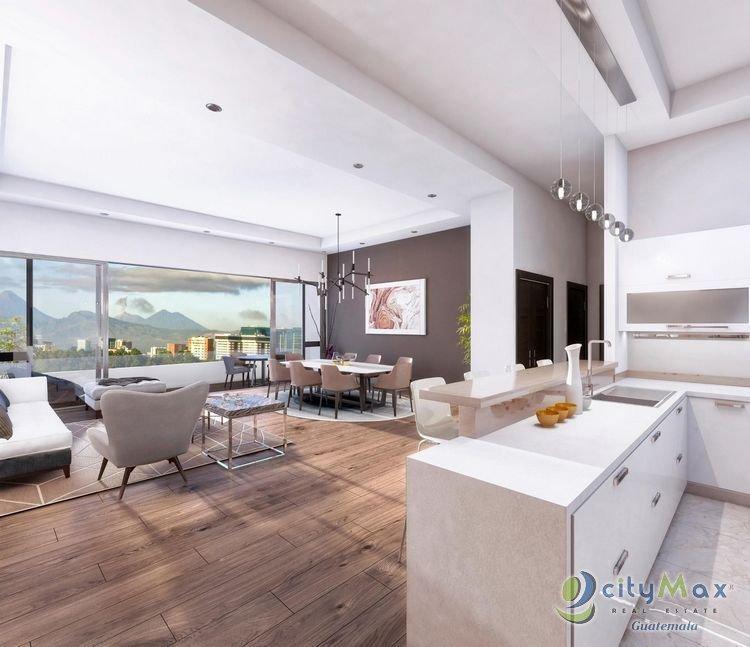 Apartamento en venta en zona 14 proyecto en preventa