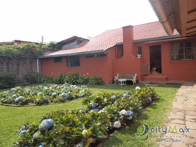 Citymax vende hermosa casa comercial en Apaneca