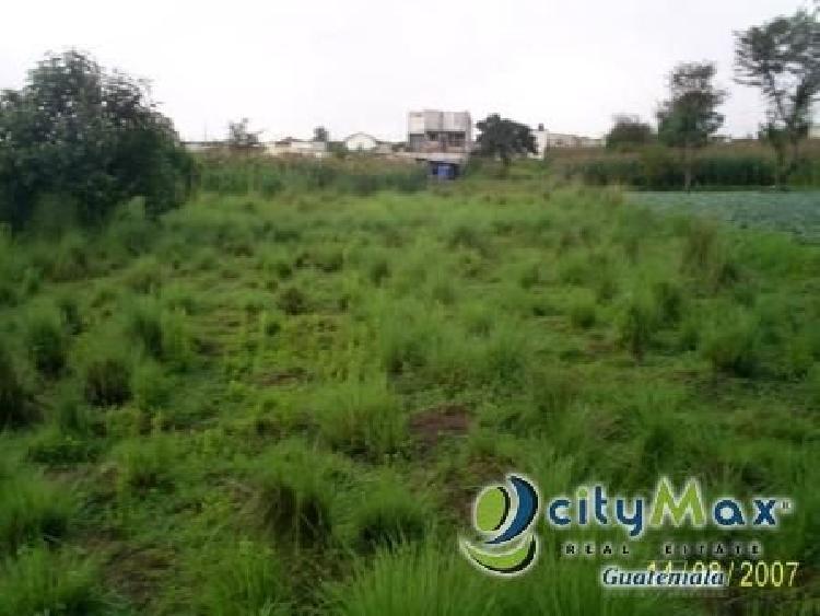 Excelente terreno en venta en Quetzaltenango