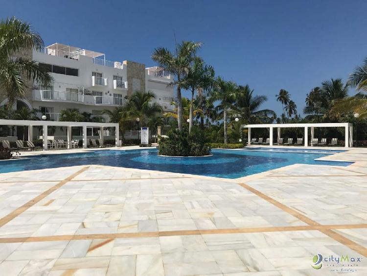 Apartamento en Venta en Playa Nueva Romana 2 Habit ,