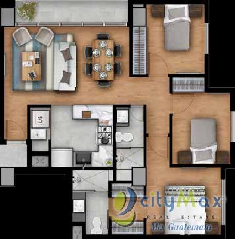Apartamento en Pre-Venta en Colonia El Carmen zona 12