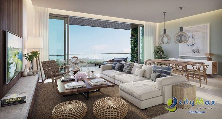 Apartamento en Venta 3H/3.5B en Cap Cana