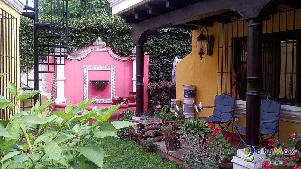Casa en Venta Amueblada en Antigua Guatemala