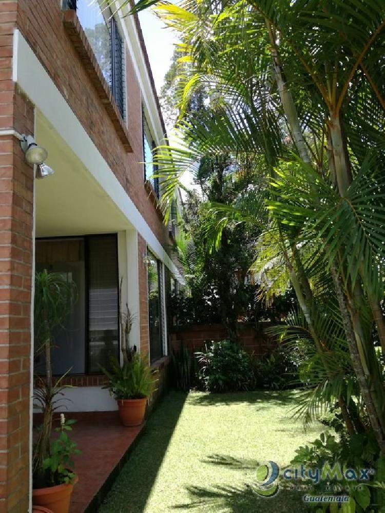 Bella Casa en Renta La Cañada Zona 14 Guatemala cityMax