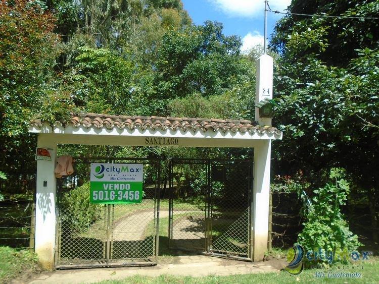 VENDO TERRENO RESIDENCIAL EN SANTIAGO SACATEPEQUEZ