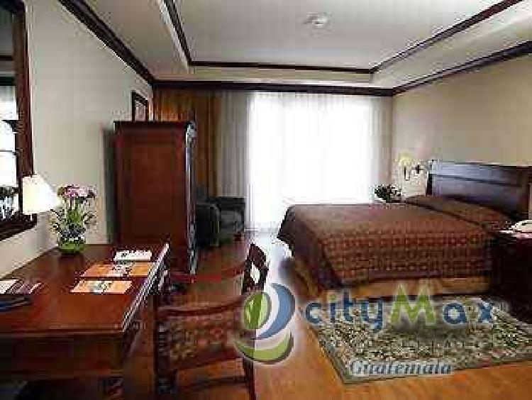 APARTAMENTO TIPO HOTEL EN VENTA EN ZONA 10 GUATEMALA