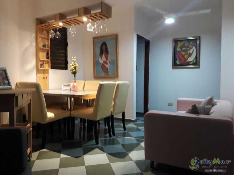 Apartamento Amueblado en Renta en Gazcue, Santo Domingo